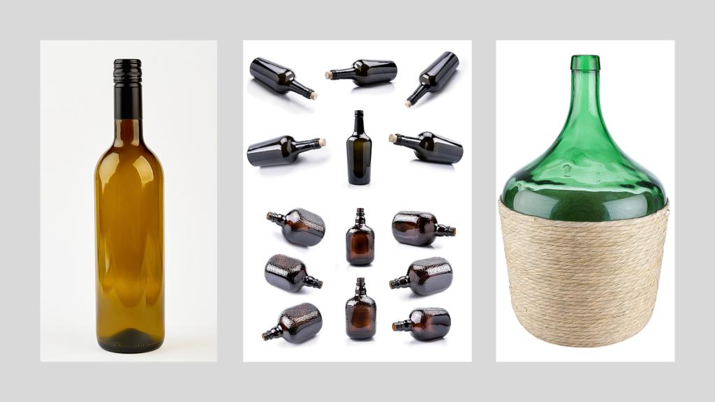 bottiglie vari formati
